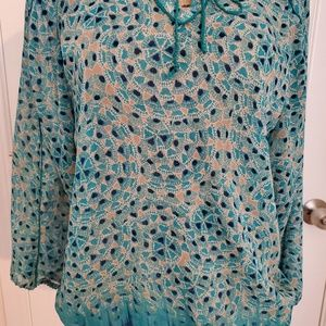 Lucky Brand Tops - Lucky Brand  printed blouse